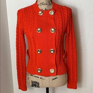 J. Crew Chunky Cable knit  Cardigan Sweater